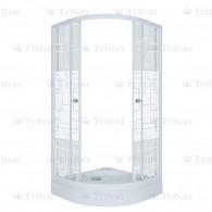 Душевой уголок Тритон Стандарт 100х100 А (низкий поддон) квадраты