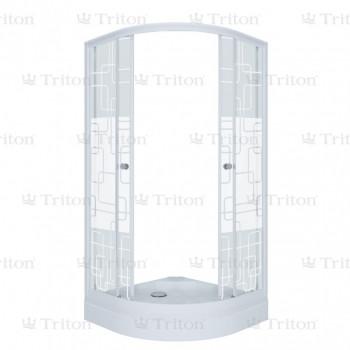 Душевой уголок Тритон Стандарт 90х90 А (низкий поддон) квадраты