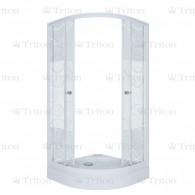 Душевой уголок Тритон Стандарт 100х100 А (низкий поддон) узоры