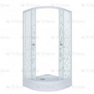 Душевой уголок Тритон Стандарт 100х100 А (низкий поддон) мозаика