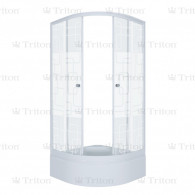 Душевой уголок Тритон Стандарт 100х100 В (средний поддон) квадраты