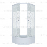 Душевой уголок Тритон Стандарт 100х100 В (средний поддон) узоры