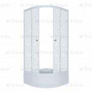 Душевой уголок Тритон Стандарт 90х90 В (средний поддон) мозаика