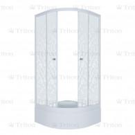 Душевой уголок Тритон Стандарт 100х100 В (средний поддон) мозаика