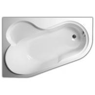 Акриловая ванна 147х100  Vagnerplast Selena  (L)
