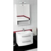 Комплект мебели для ванной комнаты Valente Miragio 700 (белый)
