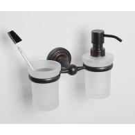 Держатель стакана и дозатора WasserKRAFT Isar K-7300 арт.K-7389
