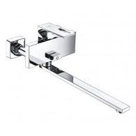 Смеситель для ванны WasserKraft Alme 1502L с длинным изливом