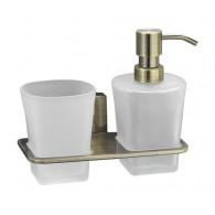 Держатель стакана и дозатора WasserKRAFT Exter K-5200 арт.K-5289