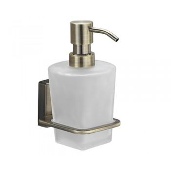 Дозатор для жидкого мыла стеклянный WasserKRAFT Exter K-5200 арт.К-5299