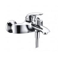 Смеситель для ванны WasserKraft Rossel 2801 с коротким изливом, хром