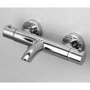 Термостатический смеситель для ванны Wasser Kraft Berkel 4811 Thermo с коротким изливом, хром